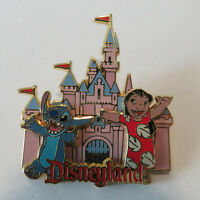 Disney DLR - Lilo & Stitch Sleeping Beauty Castle Pin