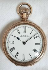 Waltham Gold plate 7J Pocket watch. *(FULL WORKING ORDER)*