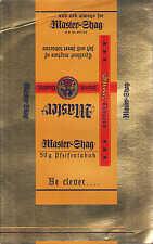 BIELEFELD, Pfeife Tabak-Verpackung 1936, Crüwell Rauch-Tabak-Fabrik Master Shag
