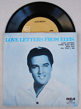 Elvis Presley Rare 4 song EP ( LOVE LETTERS FROM ELVIS ) * MINT *
