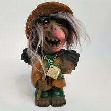 Vintage Heico West Germany Troll Figure Nodder Bobblehead with Original Tag
