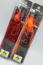 Bassday Nin rubber 40g P-36 Spark orange / HC-176 W orange red Stylish anglers