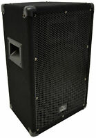 "Harmony Audio HA-V10P Pro DJ Venue 10"" Passive 300W PA Speaker 2-Way Cabinet"