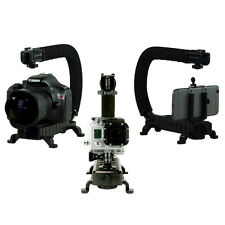 Cam Caddie Stabilizing Camera Handle for Sony Canon GoPro Mirrorless in Black