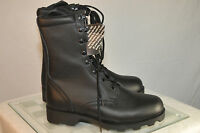 "Rothco Black Leather Speedlace 10"" Tall Combat Boot Men's 6 - 10.5 Style 5094"