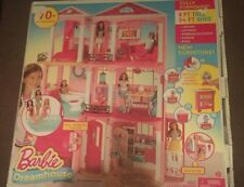 BARBIE DREAM HOUSE DOLL 3 STORIES ELEVATOR GARAGE LIGHTS, SOUNDS & MOTION NEW