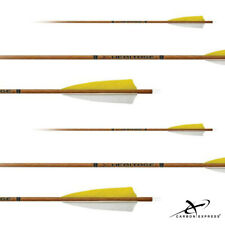 "Carbon Express Heritage Fletched Carbon 150 Arrows w/4"" Feathers (6PK)"