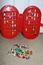 Lot Moose Mighty Beanz Series 1 & 2 Set with Case Collectible Some Multiples