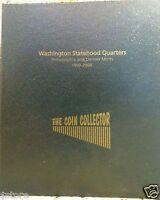 1999-2008 P&D COMPLETE BU 50 STATES QUARTERS + BONUS 2009 DC & US TERRITORIES