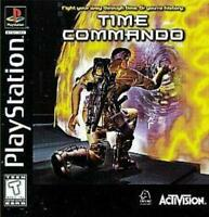 Time Commando Playstation 1 Game PS1 Used