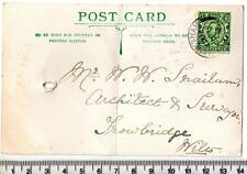 1915 Snook of MELKSHAM to Snailum of TROWBRIDGE