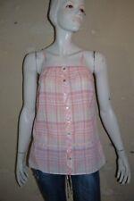 CAMAIEU Taille 38 Superbe haut top débardeuar long rose femme tee shirt T-shirt