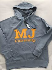 MARC BY MARC JACOBS THE ORE BLUE  M J UNIVERSITY HOODY (L)  $ 248