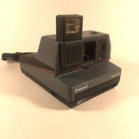 Vintage Polaroid Impulse 600 Instant Film Camera Built-In Flash With Neck Strap