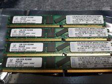 NETLIST 4GB 4x1GB PC-3200R REGISTERED ECC DDR-400 VLP NV9257RD12062-D32K1B