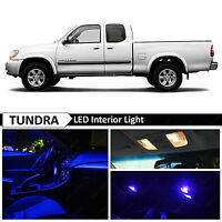 15x Blue Interior LED Lights Package Kit for 2000-2006 Toyota Tundra