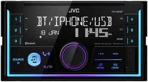 JVC KWX830BT Autoradio Set Spotify für Ford Fiesta (JH1/JD3) 2001-2005