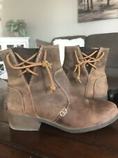 Sperry Top-sider Juniper Glyn Burnished Leather Boot 9.5