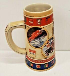 1988 Seoul Olympics, commemorative Anheuser-Busch Budweiser beer stein mug