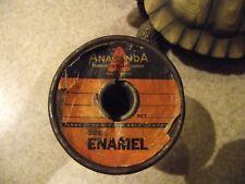 Anaconda vintage enamel magnet winding wire #38 guitar small motor free shipping