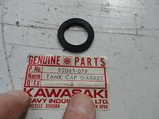 KAWASAKI MT 75 KV 75 OIL TANK CAP GASKET OEM NOS PT# 92065-079 OM7