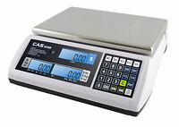 CAS S-2000 JR Series Price Computing Scale LCD Display 30LB - Free Shipping