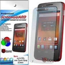 5 Pellicola Per Alcatel One Touch Spop S pop OT 4030 4030D Proteggi Display LCD