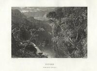 Scotland FOYERS FALLS  Loch Ness  INVERNESS Robert Burns FREEPOST
