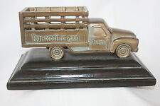 "BADCOCK FURNITURE DELIVERY TRUCK 100TH ANNIVERSARY BRONZE 7"" X 4"" X 3.5"""