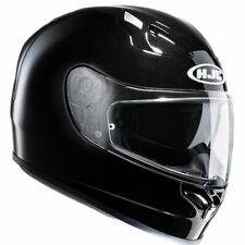 HJC FG ST Motorcycle Motorbike Full Face Helmet Blank - Gloss Black