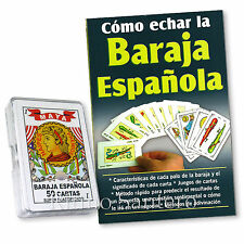 COMO ECHAR LA BARAJA ESPANOLA (LIBRO + JUEGO DE CARTAS Spanish) Naipes Tarot Ifa