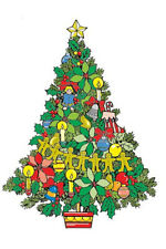 Christmas Tree 5 Feet Standing Woodworking Pattern - #624