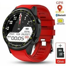 Men GPS Smart Watch Sim Card 8G Camera Heart Rate Sport Watch Phone For Android