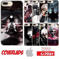 iPhone Silicon Tokyo Ghoul Anime Manga Dark Blood Gore Paint  - Coverlads