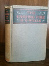 H.G. Wells - The Undying Fire first edition 1919