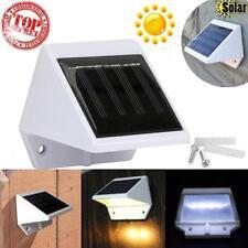4 led solar treppe zaun garten sicherheit lampe outdoor wasserdicht licht Light