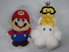 Super Mario Plush Doll Banpresto Japan Mario and Lakitu 2pcs set