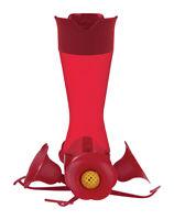 Perky-Pet  Hummingbird  8 oz. Nectar Feeder  4 ports Plastic