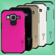 Protective Hybrid Phone Cover Case for Samsung Galaxy Prevail LTE / Core Prime