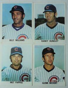 1970's Williams Beckert Pappas Hundley LOT 4  Photos Chicago CUBS - FLASH SALE