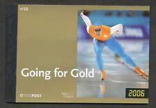 Nederland Prestigeboekje 10 postfris  Going for Gold
