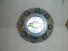 00-14 Chevrolet 2500 Plastic Center Cap Covers w/Chevy emblem and 8 lug covers