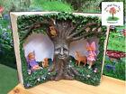 Solar Fairytale Book Wisdom Tree Fairies Fairy Tale Magic Night Light Statue