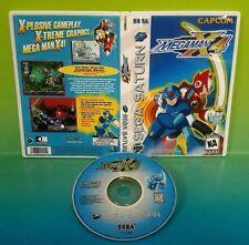Mega Man X4 (Sega Saturn, 1997) -  Game Rare - Custom Made Cover Art  - MEGAMAN