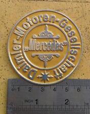 DAIMLER MOTOREN GESSELLCHAFF MERCEDES BENZ BADGE CAR FOR SALE HISTORY AG VINTAGE