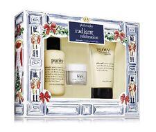 PHILOSOPHY Radiant Celebration Skin Care Set NIB ($61 Value!!!)