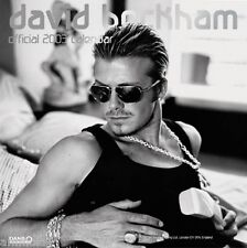 Very Rare David Beckham Official Unused Danilo Calendar from 2003