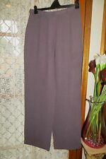 VINTAGE 40'S Style ~ SUSSAN ~ Mauvey Grey ~  PANTS * Size 12 * REDUCED !!