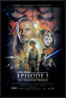 STAR WARS: EPISODE I - THE PHANTOM MENACE - FRAMED MOVIE POSTER (REGULAR STYLE)