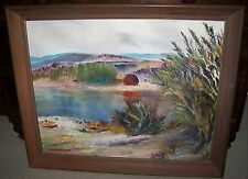 PLEIN AIR FINGER LAKES IMPRESSIONIST OIL PAINTING CANANDAIGA CONESUS LAKE NEWELL